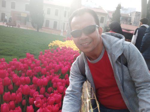 Taman Gulhan Park disamping Topkapi Palace