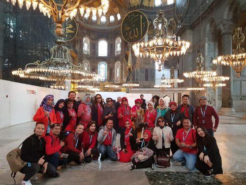 hagia sophia, mosque blue Istanbul simbol peradaban islam di Turki hingga kini